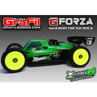 GrafilBodies G-Forza 2mm Shell For TLR 5B