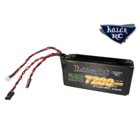 Killer RC 7200mAh RX Lipo Battery